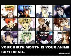 Who's your bf? My bf is Kise (kuroko's basket)