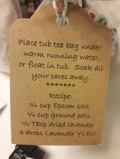 Place in metal tea strainer or reusable tea pouch. Bath Recipes, Soap Recipes, Bath Tea, Tea Strainer, Diy Spa, Homemade Beauty Products, Diy Skin Care, Home Made Soap, Bath Salts