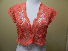 Bolero Primavera Crochet parte 1 de 2