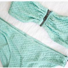 zipper swimsuit
