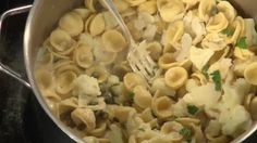 This Homestyle Lemon Cauliflower Orecchiette is an ideal recipe to introduce your kids to cauliflower.