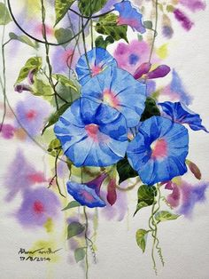The artist - watercolor Ti Watercolor (Bangkok-Thailand) .. Discussion on LiveInternet - Russian Service Online Diaries
