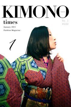 山形きもの時間 January 2011 [ No.1 ] / Yamagata Kimono Times, January 2011, no1