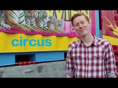 Kleuters - Leren met meneer Frans: Circus - YouTube