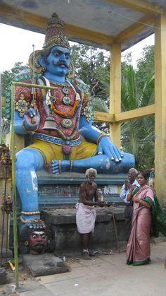Ayannar Shrine village guardian, Tamil Nadu, India