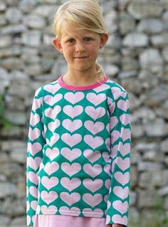 Meandi syysmallisto 2008 :::: Sydämiä (myös ruskea), 74/80-134/140, 23-25 €