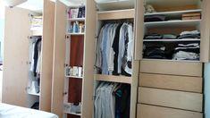 Bedroom Wardrobe Doors Open