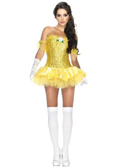 Sexy Halloween Adult Enchanting Beauty Belle Princess Costume