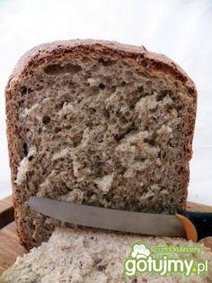 Pełnoziarnisty chleb z maszyny Banana Bread, Food And Drink, Tiramisu, Breads, Bread Rolls, Bread, Tiramisu Cake, Braided Pigtails, Buns
