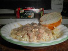 Kirsten H's Tasty Beef Stroganoff