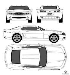 car blueprint - Google Search