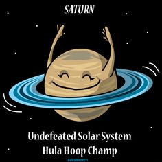 Saturn: Undefeated Hula Hoop Champ