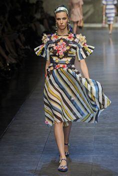 Dolce & Gabbana RTW Spring 2013 - Slideshow - Runway, Fashion Week, Reviews and Slideshows - WWD.com