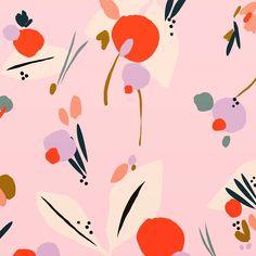 #susandriscoll #abstractflorals #designer #designjob #freelance #textiles #textiledesign #artist #stationery