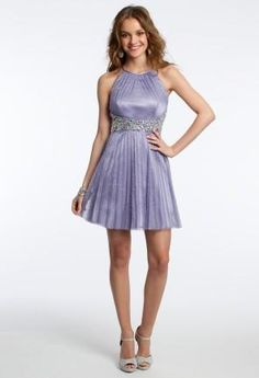 Glitter Pleated Dress from Camille La Vie and Group USA