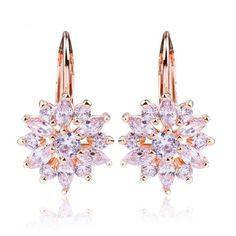 SIVITE Glitter Teardrop Leather Earrings Boho Druzy Statement Drop Dangle Earrings Set for Women Girls