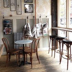 Coffee Shop Design | Retail Design | Ost Cafe | New York (love the cozy design)