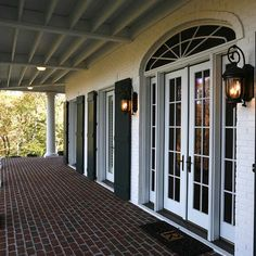French doors on pinterest exterior french doors french for Narrow exterior door