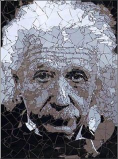 Ed Chapman is one of the top British mosaic artists with an instantly recognisable style. His work needs to be seen to be believed. The mosaic art contains extremely fine detail, achieved through Ed's , painstaking effort creating his subjects using hundreds of fragments of ceramic tile, vitreous glass, paper or even sugar cubes.~~~Ed creates intricate photo-realist portraits set against contrasting bold colour backdrops, forcing the viewer to question if his mosaics are, in fact paintings.