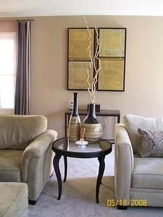 Metropolitan Home inspired living room designed by Serena Monjeau Walkes featured on Rate My Space