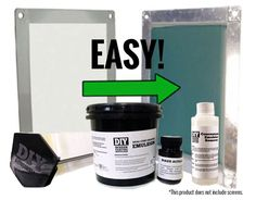 Hack the yudu screen coating kit refill screen printing for Cricket printing machine craft supplies