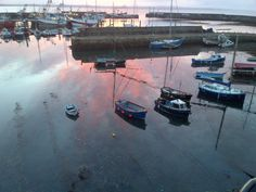 Sunrise Newlyn Harbour