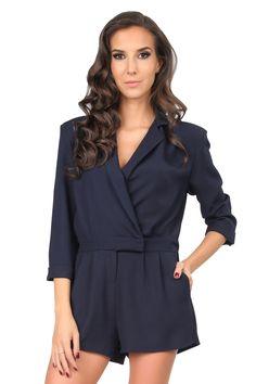 e09f049faa4d Φόρμα CARLA BY ROZARANCIO - σκούρο μπλε International Fashion