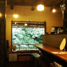 久々の投稿でした あけております  涼しいです  #箕面 #日本茶カフェ #日本茶バー #Minoo #Matcha #日本酒 #箕面瀧道 #抹茶 #緑茶 #CHAnoMA #箕面ビール