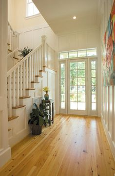 Arts And Crafts Influenced Stair Design Ideas, Pictures, Remodel, and Decor - page 13