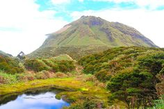 MOUNT APO is a large solfataric, potentially-active stratovolcano in the island of Mindanao, Philippines.