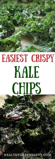 No-fail kale chips -- utterly addictive and so good for you! This is a streamlined recipe to make it super simple, with an energy-saving twist and technique for rescuing soggy chips. Click to read more or pin to save it for later! | kale recipes | healthy recipes | healthy snacks | kale chips|