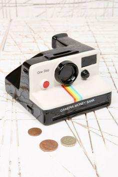 Cofre Polaroid à venda na Tok Stok no RIo de Janeiro.