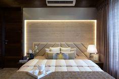 3 BHK Apartment Interiors at Yari Road Bedroom Closet Design, Bedroom Furniture Design, Modern Bedroom Design, Master Bedroom Design, Apartment Bedroom Decor, Apartment Interior Design, Bad Room Design, Small Modern Home, Luxurious Bedrooms
