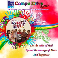 Happy Holi to all my dearest Students, Friends & family members!!!! spread the colour of joy & hapiness in all round the world. Happy & safe Holi to all from CDS family.