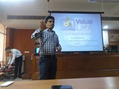 """""""Workshop on Virtual Labs"""" at #TheNorthCapUniversity Click to read more: http://blog.ncuindia.edu/2016/03/workshop-on-virtual-labs.html"""