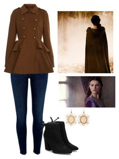 """""""Syrena Riddle"""" by sixela14 ❤ liked on Polyvore featuring River Island, Miss Selfridge, Katie and Irene Neuwirth"""