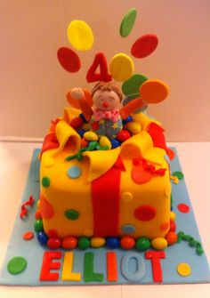2 Birthday Cake, Birthday Ideas, Mr Tumble, Miss Cupcake, Cake Creations, Little Miss, Baby Ideas, First Birthdays, Projects To Try