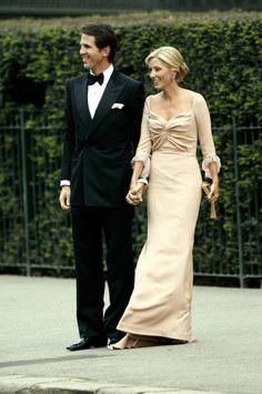 El príncipe Pablo y la princesa Marie Chantal de Grecia