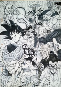 Amazing Dragon Ball Z fanart drawn by: ‏@dramani5958 #SonGokuKakarot