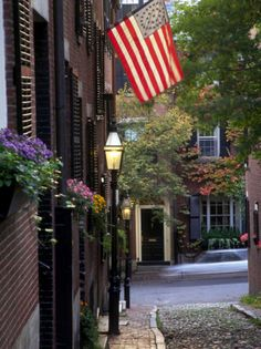 Boston (Beacon Hill). USA.-