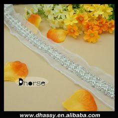 New product fancy handmade pearl and rhinestone mesh trimming, View pearl and rhinestone mesh trimming, Dhorse Product Details from Guangzhou Dhorse Garment Accessory Firm on Alibaba.com