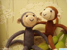 grå,brun,apa,virka,dagenskreativa Teddy Bear, Toys, Crochet, Animals, Google, Eggs, Threading, Activity Toys, Animales