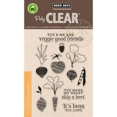 Hero Arts - Clear Stamps - Your Own Salad