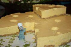 #Mango- #juustokakku , #lastenjuhlat Feta, Mango, Dairy, Cheese, Manga