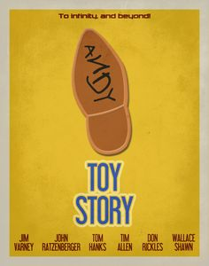 Items similar to Toy Story Inspired Minimalist Movie Poster / Kids Room Poster / Play Room Decor on Etsy Best Movie Posters, Minimal Movie Posters, Disney Posters, Cinema Posters, Alternative Movie Posters, Pixar Movies, Album Book, Great Films, Movies