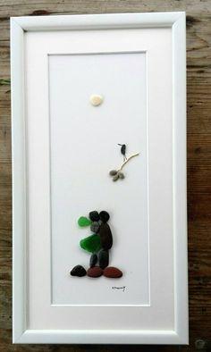 Pebble art couple Love giftWeddings  by pebbleartSmiljana on Etsy
