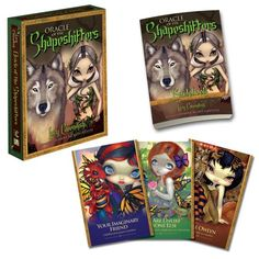Oracle of the Shapeshifters: Mystic Familiars for Times of Transformation and Change by Lucy Cavendish