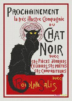 Black cat poster graphgan