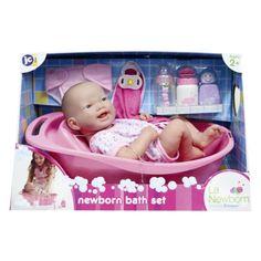 Pop La Newborn Met Bad 36 Cm