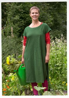 Striped eco-cotton dress – Skirts & dresses – GUDRUN SJÖDÉN – Webshop, mail order and boutiques | Colourful clothes and home textiles in nat...